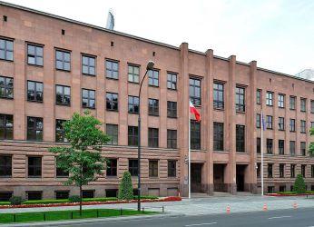 Ministerstwo Spraw Zagranicznych al. Szucha 23 osuszony w 2015r.