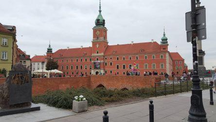 Zamek Królewski w Warszawie osuszoany w 2015r.